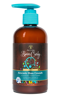 As I Am Born Curly Avocado Shea Cowash - Beauty Bar & Supply