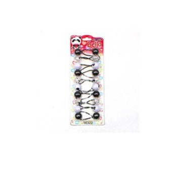 Bello Collection 20mm Balls Clear/White/Black 10pc #16302 - Beauty Bar & Supply