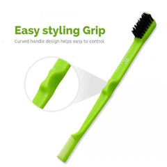 Beauty Town Double Sided Edge Brush & Comb - Beauty Bar & Supply
