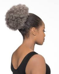 Foxy Silver Synthetic Drawstring Ponytail-DS07 - Beauty Bar & Supply