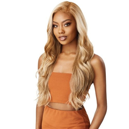 Outre Synthetic Color Bomb Swiss Lace Front Wig-Kimani - Beauty Bar & Supply