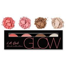 L.A. Girl Beauty Brick Blush Palette - Beauty Bar & Supply