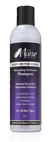 The Mane Choice Easy On The CURLS Detangling Hydration Shampoo - Beauty Bar & Supply
