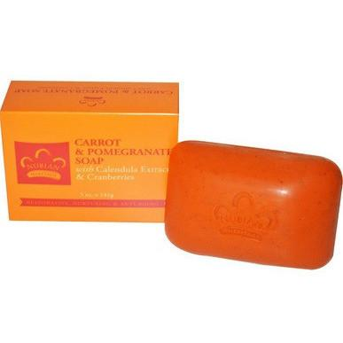Nubian Heritage Carrot & Pomegranate Soap - Beauty Bar & Supply