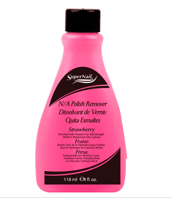 SuperNail N/A Polish Remover Pink 4fl oz. - Beauty Bar & Supply