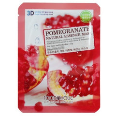 FOODAHOLIC POMERGRANATE NATURAL ESSENCE MASK - Beauty Bar & Supply