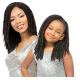 "Sensationnel African Collection Crochet Braid 12""- BABY SASSY"