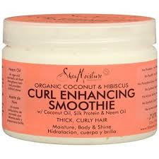 Shea Moisture Coconut Hibiscus Curl Enhance Smoothie - Beauty Bar & Supply