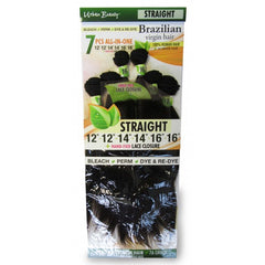 Urban Beauty Straight Brazilian Virgin Hair 7 pc - Beauty Bar & Supply