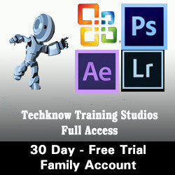 9 - 30 DAY FREE TRIAL - FAMILY PLUS - TTS - Full Access - Monthly