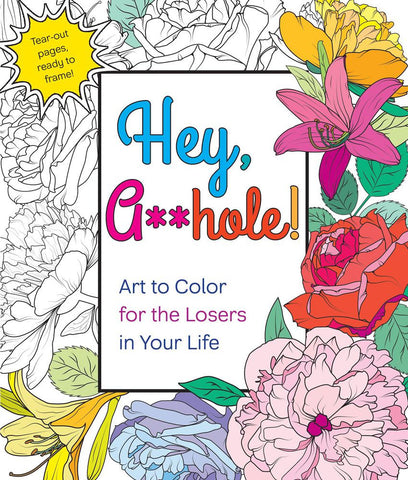 Hey, Asshole! Coloring Book
