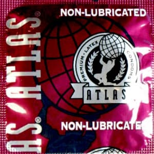 Atlas Unlubricated Condoms