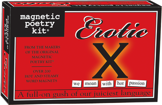 Magnetic Poetry Kit- Erotic X Edition