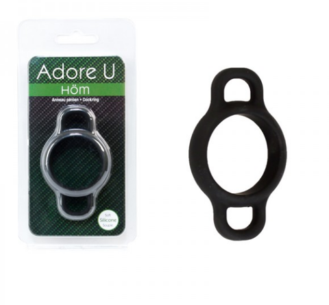 Adore U Cock Ring With Handles