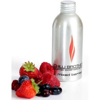 CHILLI BROTHERS  Hot Organic Mixed Berries Chilli  Syrup