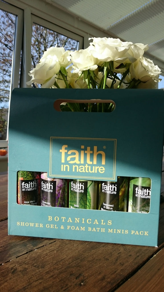 Faith in Nature Shower Gel & Foam Bath Gift Pack - Botanicals