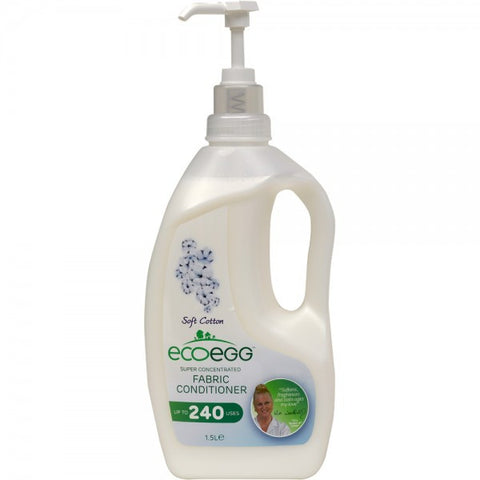 EcoEgg Fabric Conditioner, Concentrated - Fresh Linen