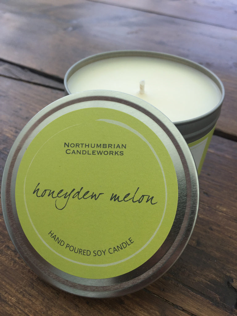 Soy Candle, Large, Honeydew Melon