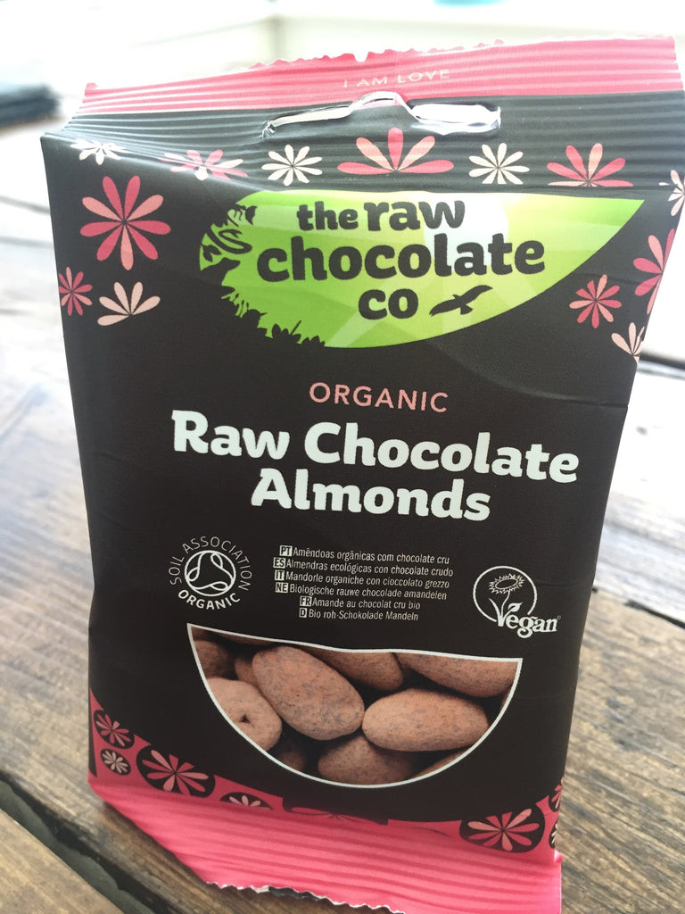 The Raw Chocolate Company, Snack Pack, Raw Chocolate Almonds, 28g