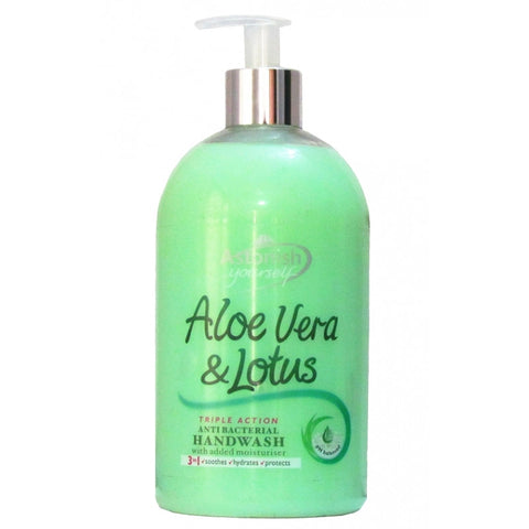 Astonish Handwash, Antibacterial, Aloe Vera & Lotus