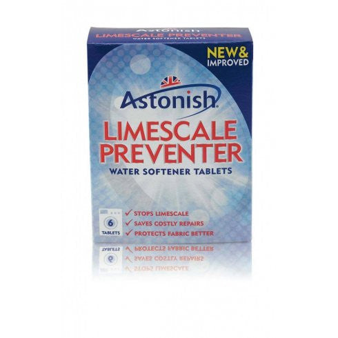 Astonish Limescale Preventer Tablets (Water Softeners)