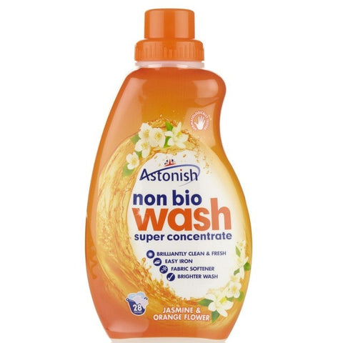 Astonish Laundry Liquid, Non-Bio Wash, Jasmine & Orange Flower