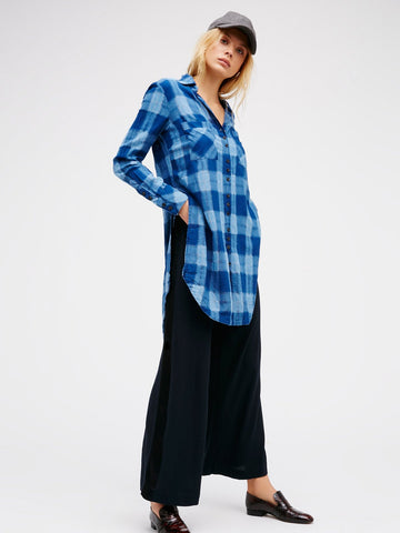 Indigo Maxi Tunic Top