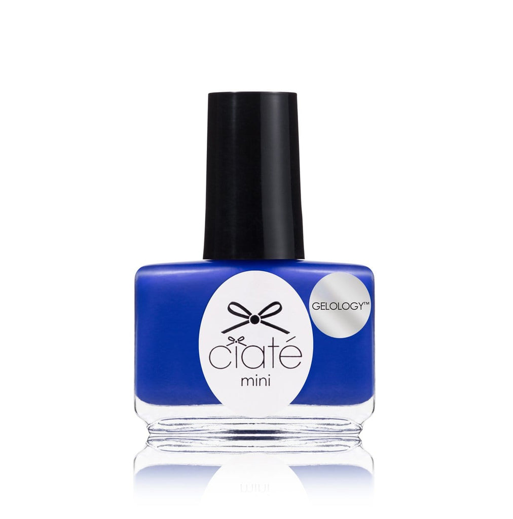 Ciate London Chrome Nail Polish: Blue Gel Nail Polish