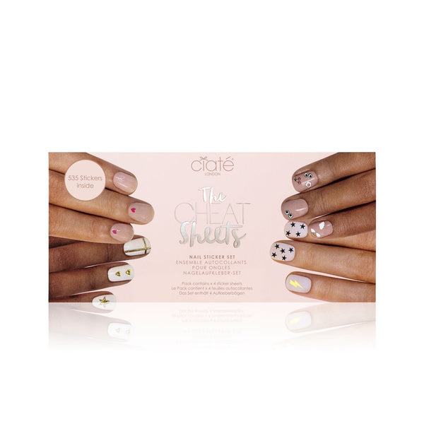 The Cheat Sheets Vol. 2 Nail Stickers Ciaté London