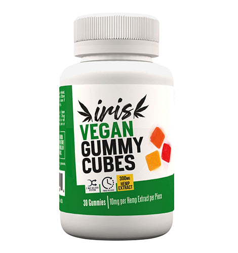 Vegan Gummy Cubes 300mg.