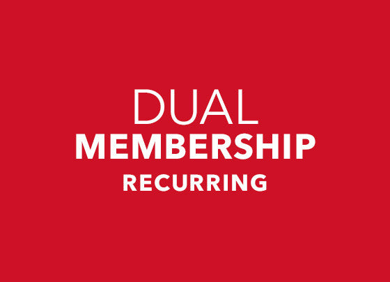 Monthly Membership - Dual