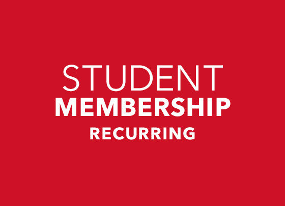 Monthly Membership- Student
