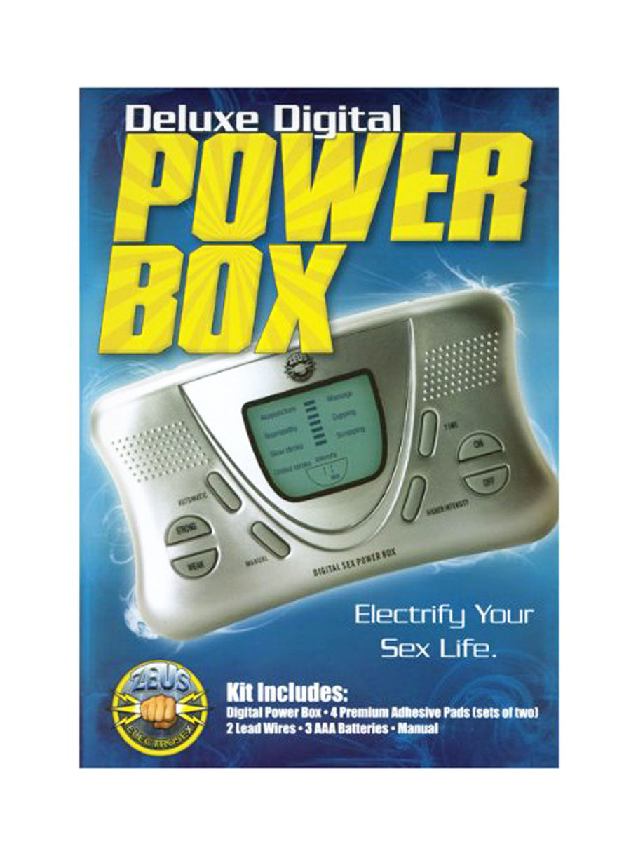 Deluxe Dual Channel Electrosex Power Box