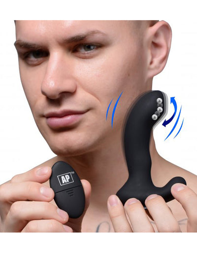 Alpha-Pro 10X Vibrating Prostate Massager
