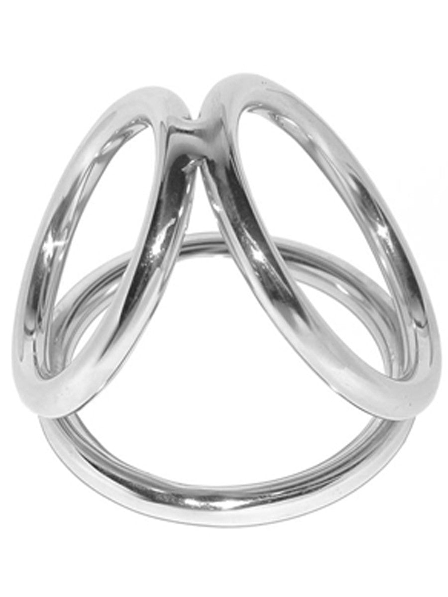The Metal Triad Cock Ring