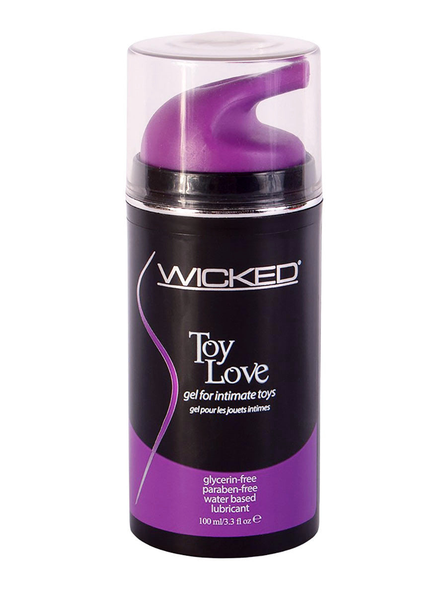 Wicked Toy Lube - 3.3oz Black