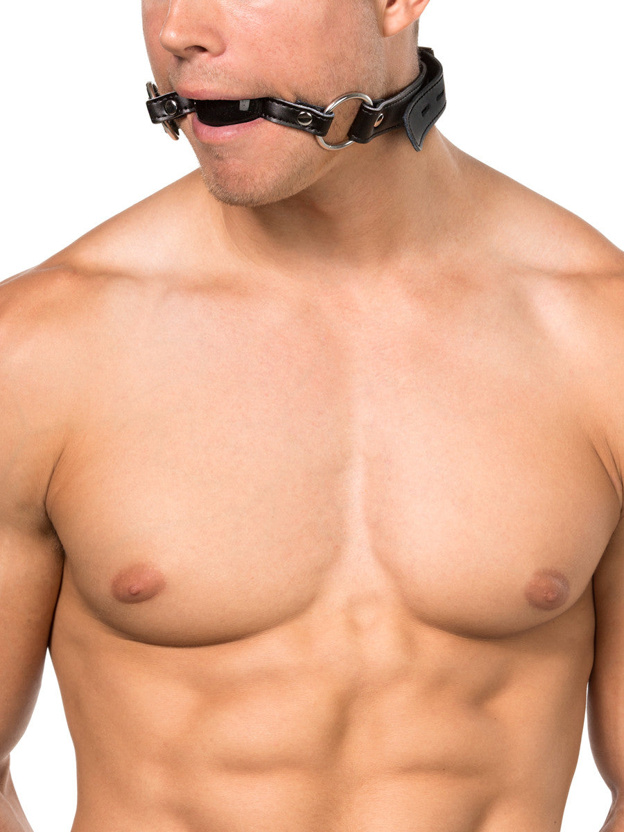 Silicone Black Ball Gag