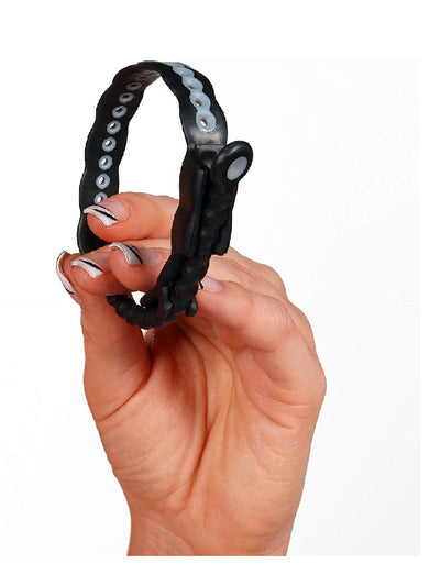Perfect Fit Black Adjustable Cock Ring