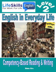 WORK LIFE SKILLS LEVEL 2 READING / WRITING BOOK - Instructors Annotated (DOWNLOAD)