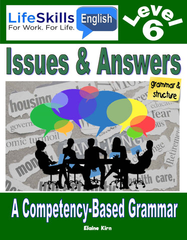15B LIFE SKILLS LEVEL 6 GRAMMAR BOOK - Instructor's Annotated
