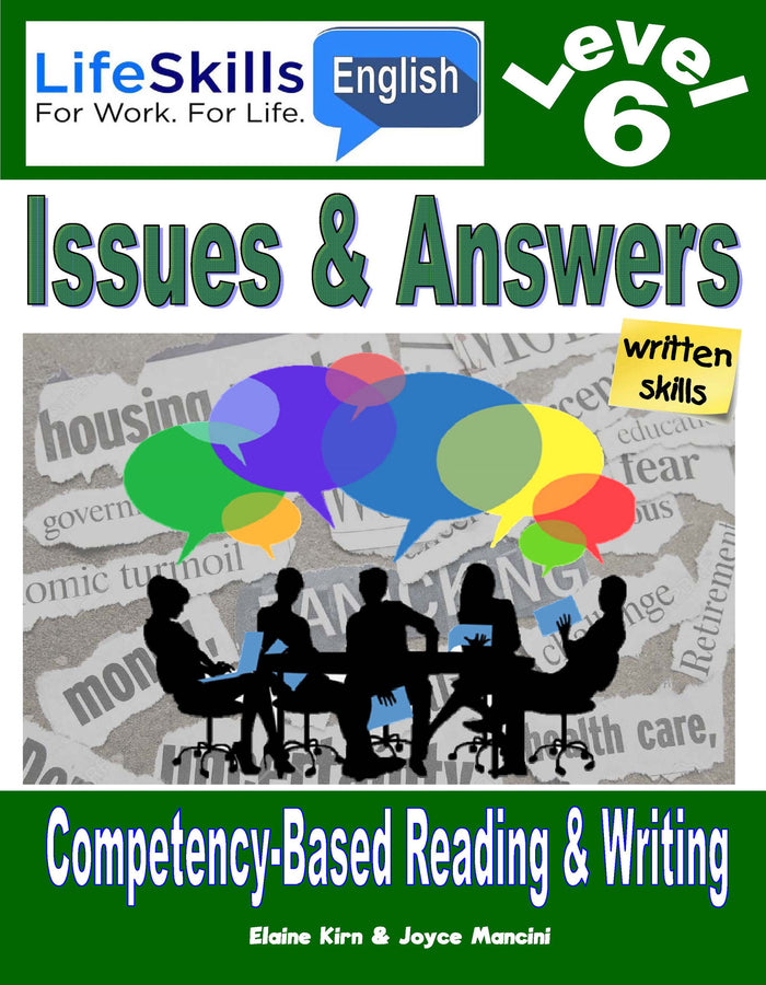 17B LIFE SKILLS LEVEL 6 READING / WRITING BOOK - Instructors Annotated