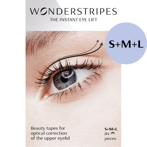 WONDERSTRIPES Trialpack (S+M+L) - 84 beauty patches