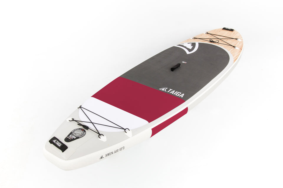 Inflatable SUP Board - Awen AIR 10' Burgundy