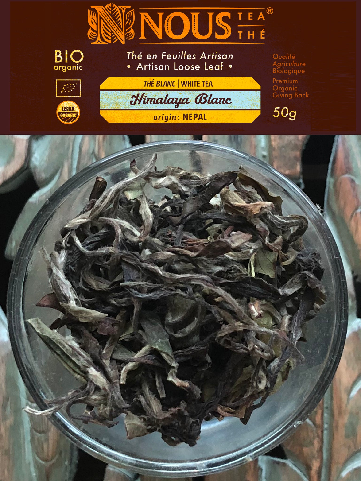 Artisan Collection: Himalaya Blanc organic white tea