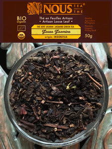 Jawa Jasmine organic jasmine green tea - Artisan Collection