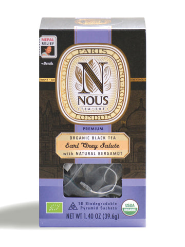 Earl Grey Salute - NOUS Tea