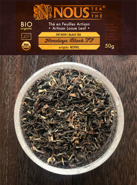 Artisan collection: Himalaya Black First flush organic tea
