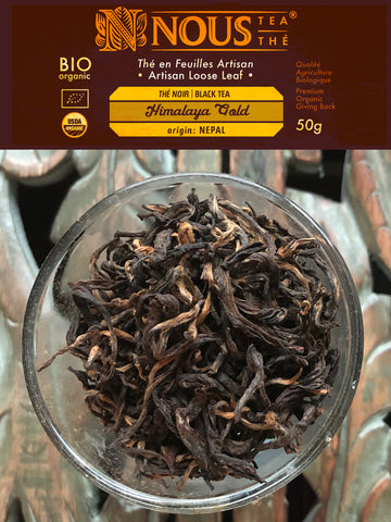 Artisan Collection: Himalaya Gold organic black tea
