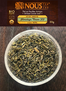 Himalaya green - first flush organic tea - Artisan collection