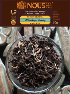 Artisan Collection: Himalaya Oolong organic tea
